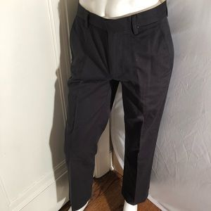 GAP relaxed fit gray dress pants